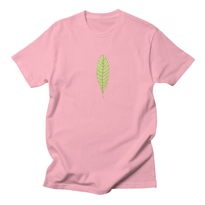 GREEN LEAF Women's Regular Unisex T-Shirt by IF Creation's Artist Shop