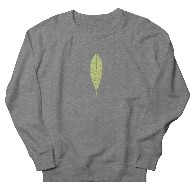GREEN LEAF Men's Sweatshirt by IF Creation's Artist Shop