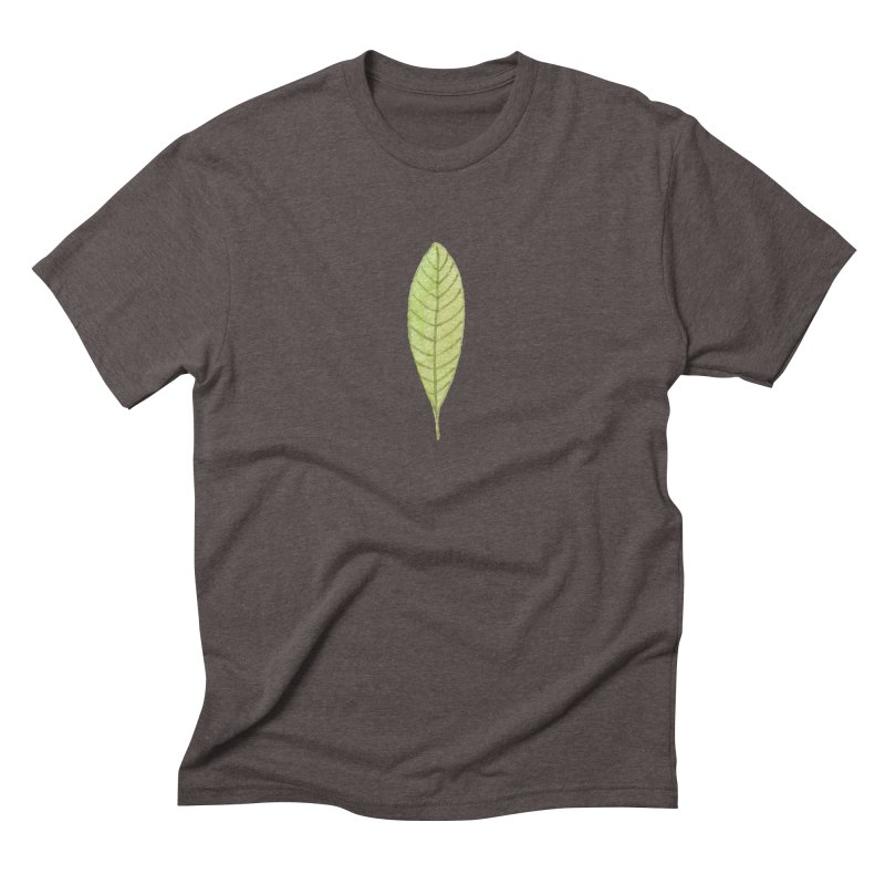 GREEN LEAF Men's Triblend T-Shirt by IF Creation's Artist Shop