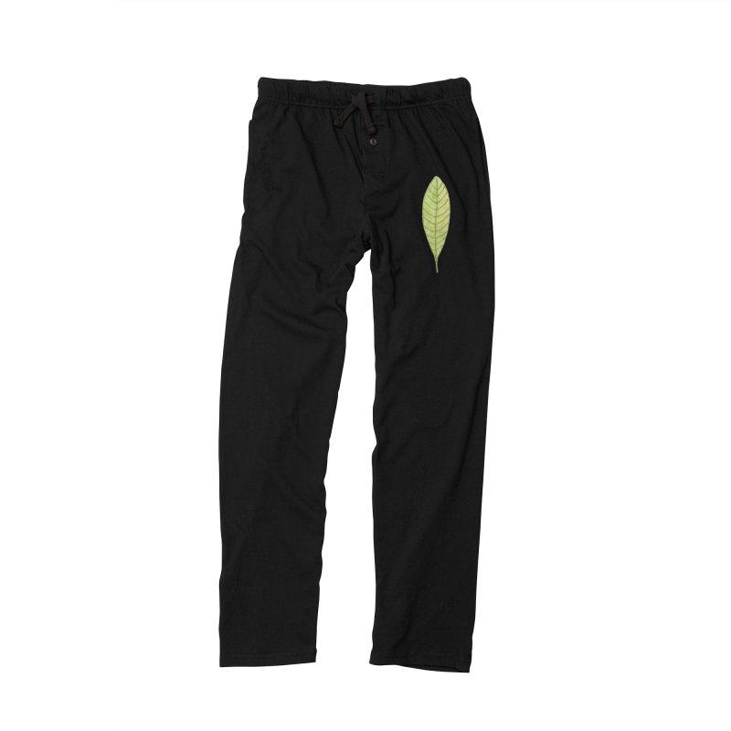 GREEN LEAF Men's Lounge Pants by IF Creation's Artist Shop