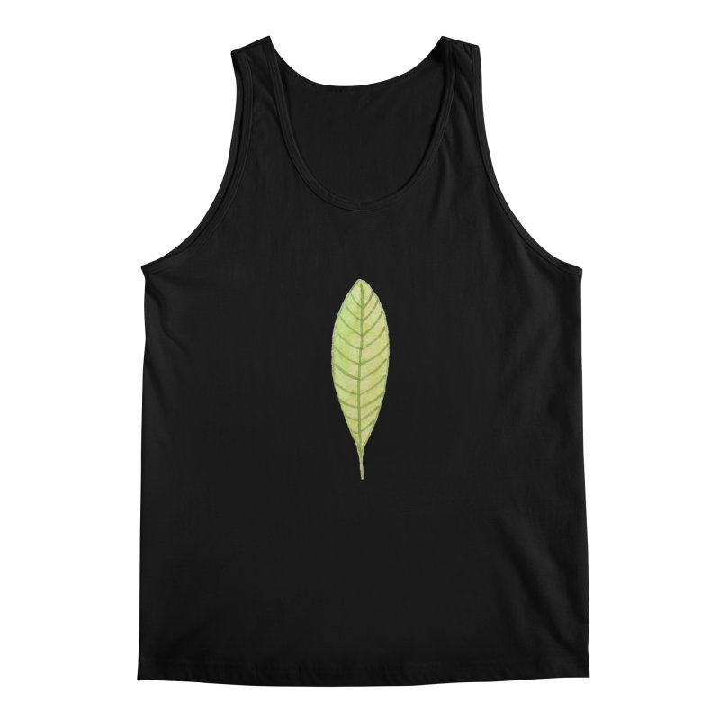 GREEN LEAF Men's Regular Tank by IF Creation's Artist Shop