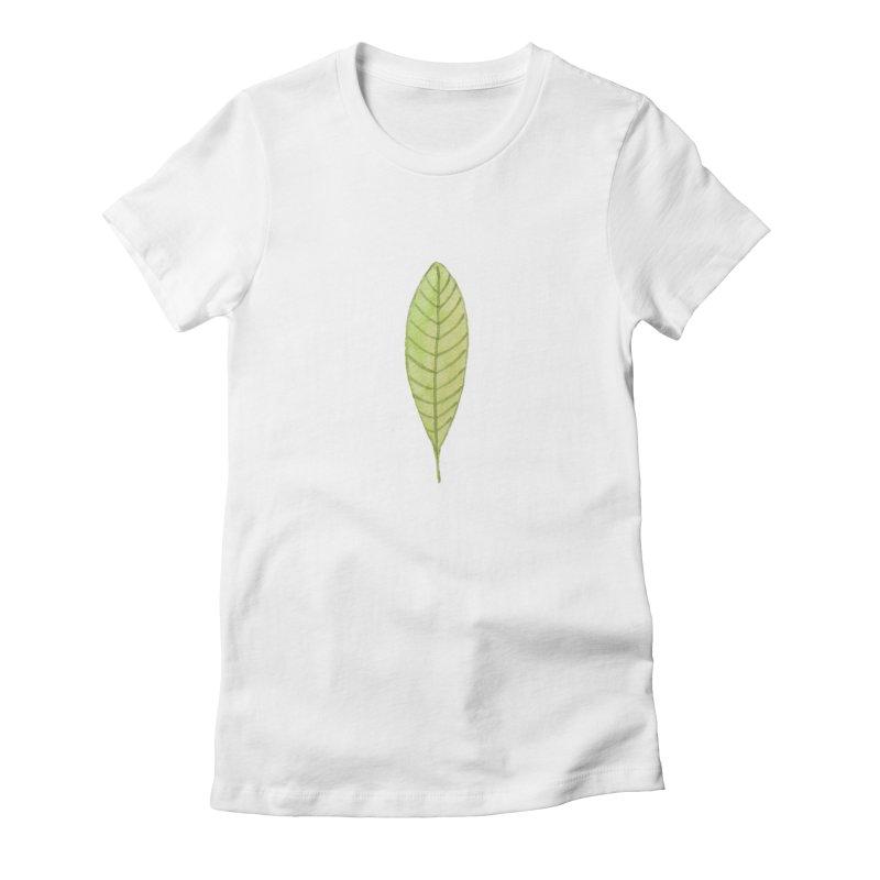 GREEN LEAF Women's T-Shirt by IF Creation's Artist Shop