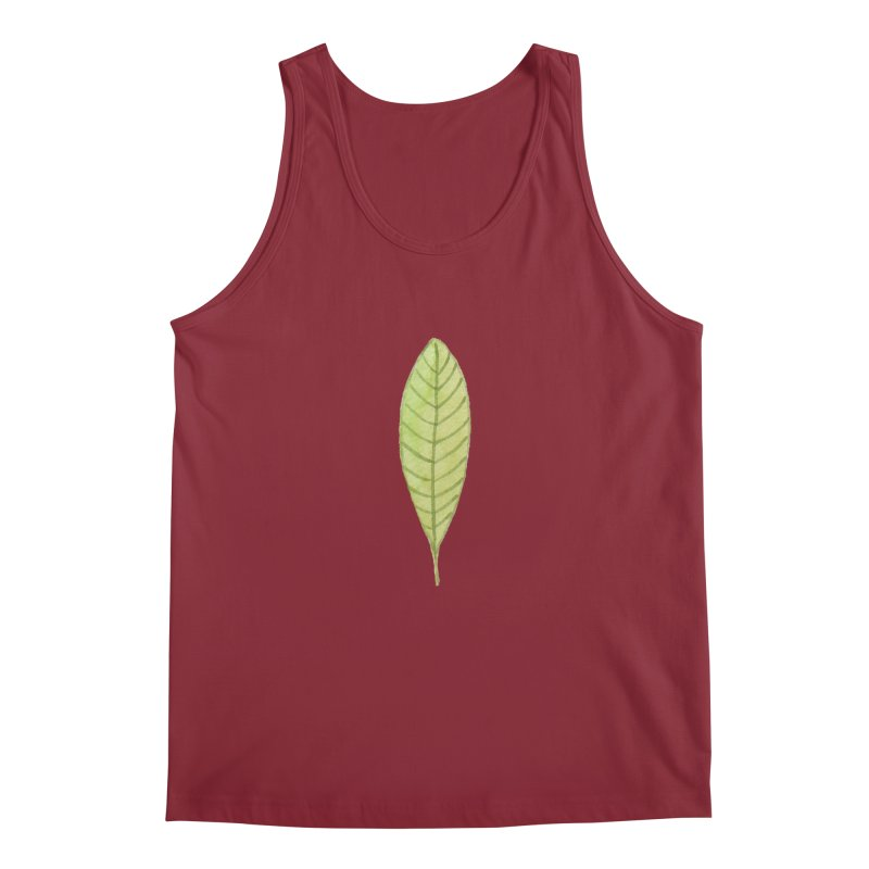 GREEN LEAF Men's Tank by IF Creation's Artist Shop