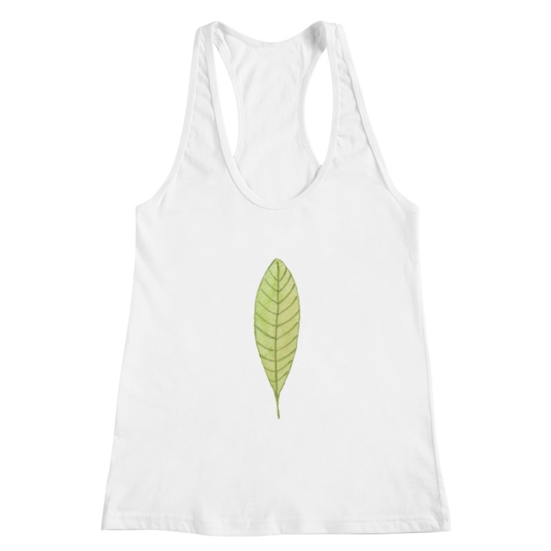 GREEN LEAF Women's Tank by IF Creation's Artist Shop