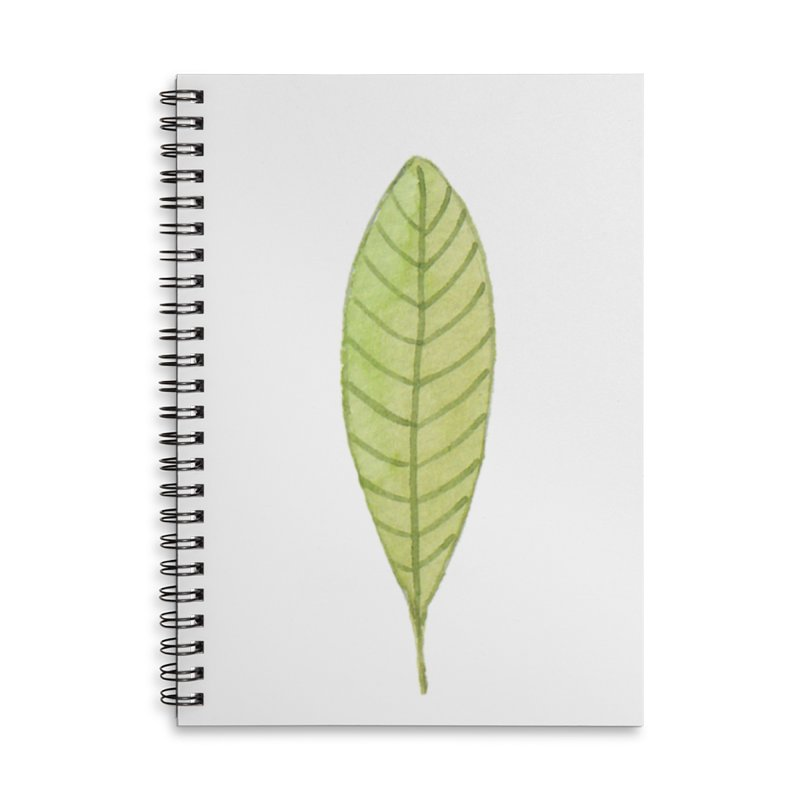 GREEN LEAF Accessories Notebook by IF Creation's Artist Shop