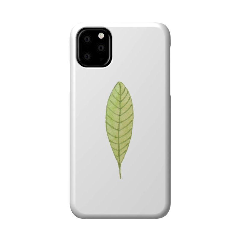 GREEN LEAF Accessories Phone Case by IF Creation's Artist Shop