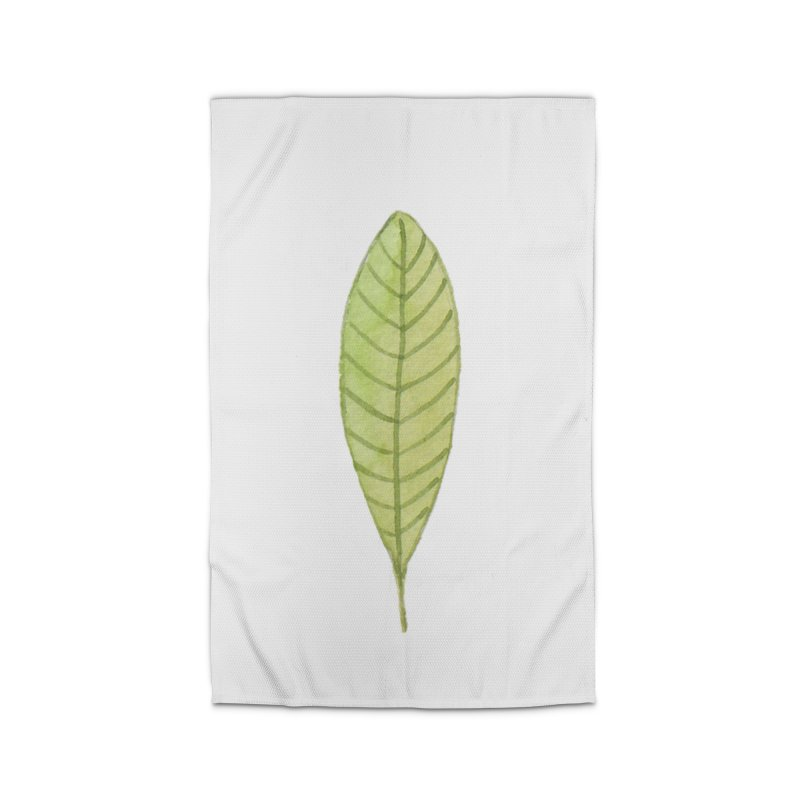 GREEN LEAF Home Rug by IF Creation's Artist Shop