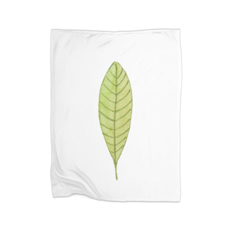GREEN LEAF Home Blanket by IF Creation's Artist Shop