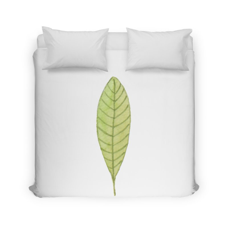 GREEN LEAF Home Duvet by IF Creation's Artist Shop