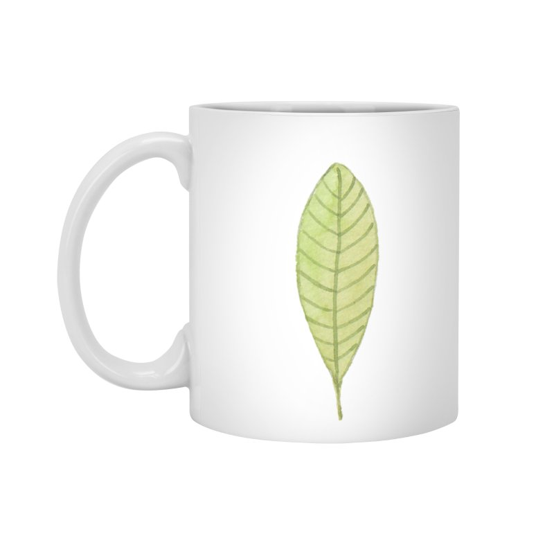 GREEN LEAF Accessories Mug by IF Creation's Artist Shop