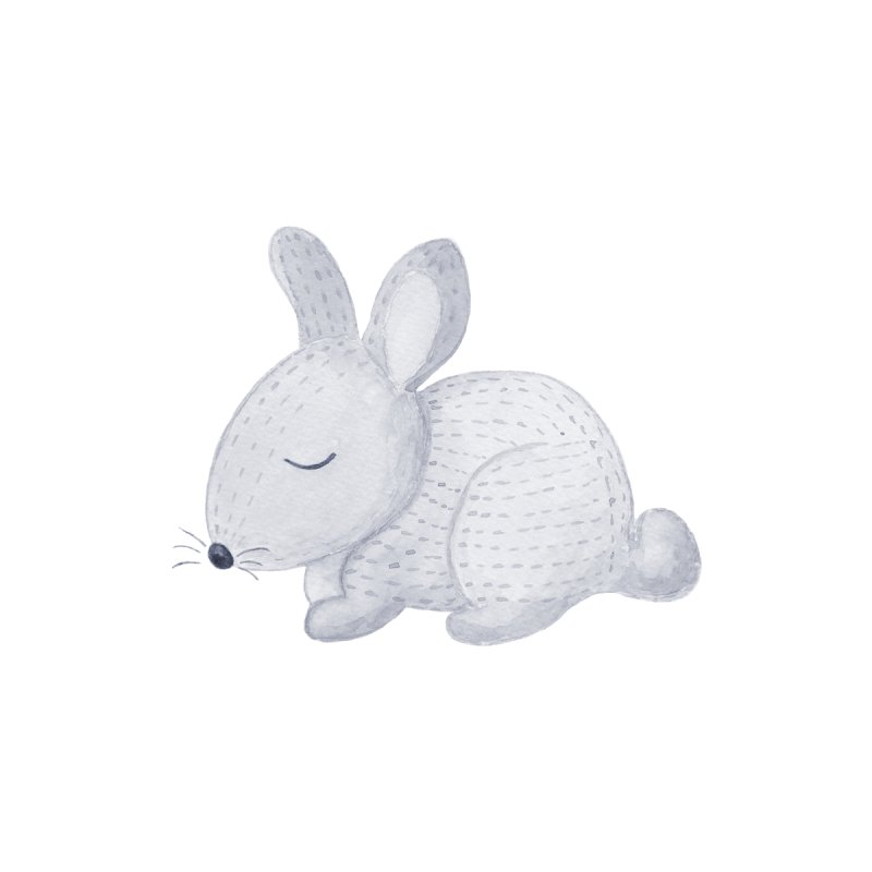 BUNNY Accessories Zip Pouch by IF Creation's Artist Shop