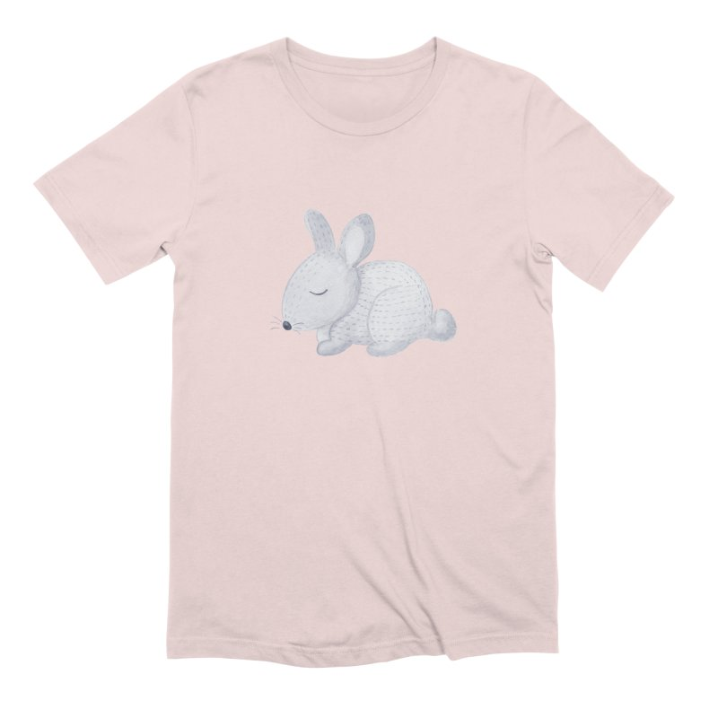 BUNNY Men's Extra Soft T-Shirt by IF Creation's Artist Shop