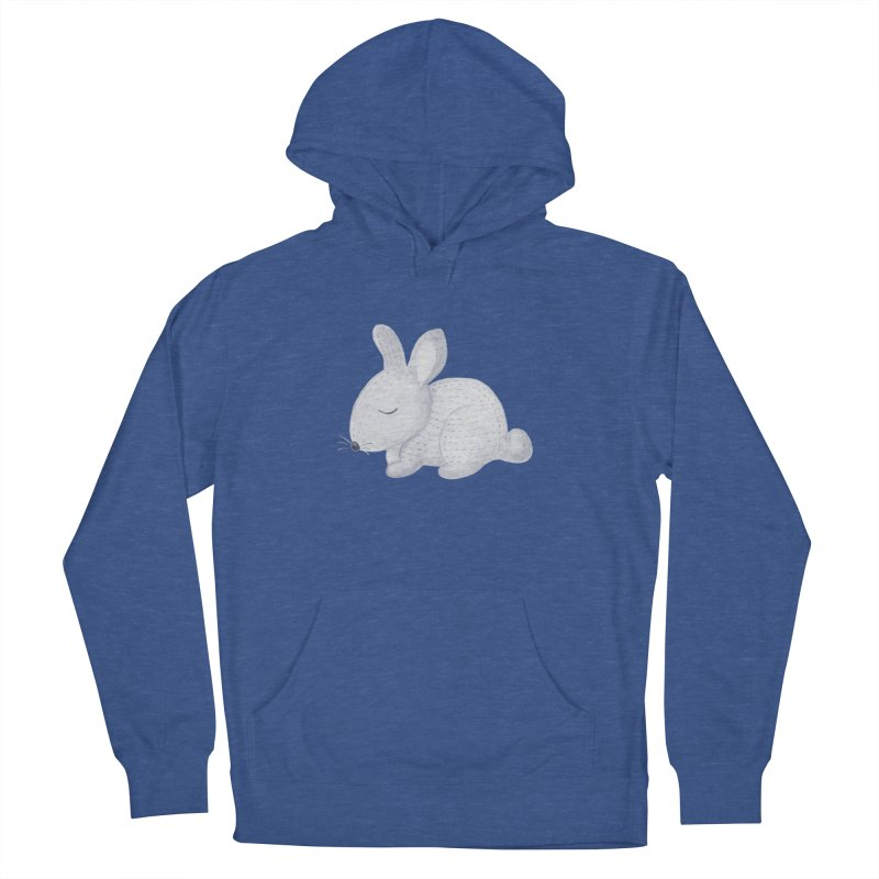 BUNNY Women's French Terry Pullover Hoody by IF Creation's Artist Shop