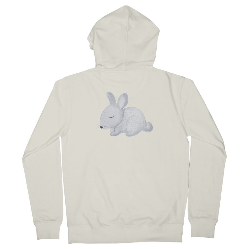 BUNNY Women's Zip-Up Hoody by IF Creation's Artist Shop
