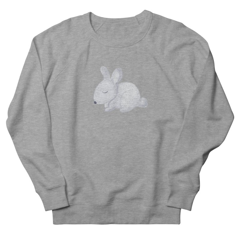 BUNNY Women's French Terry Sweatshirt by IF Creation's Artist Shop