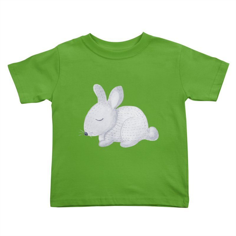 BUNNY Kids Toddler T-Shirt by IF Creation's Artist Shop