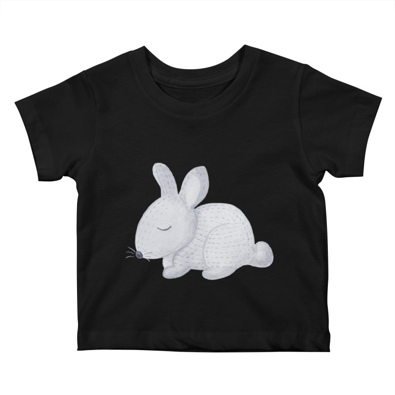 BUNNY Kids Baby T-Shirt by IF Creation's Artist Shop