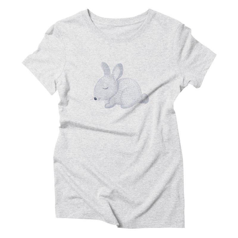 BUNNY Women's T-Shirt by IF Creation's Artist Shop