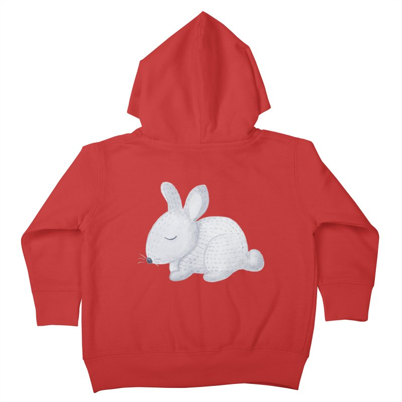 BUNNY Kids Toddler Zip-Up Hoody by IF Creation's Artist Shop