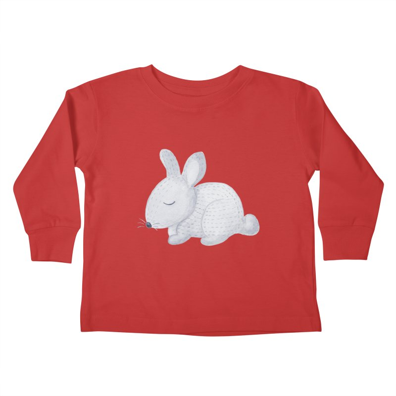 BUNNY Kids Toddler Longsleeve T-Shirt by IF Creation's Artist Shop