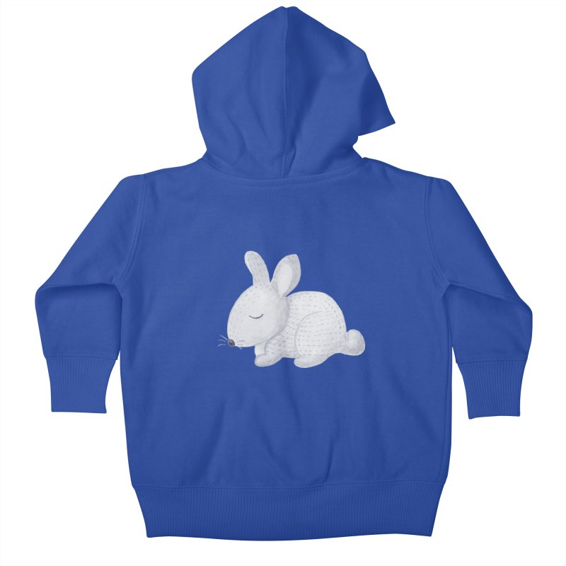 BUNNY Kids Baby Zip-Up Hoody by IF Creation's Artist Shop