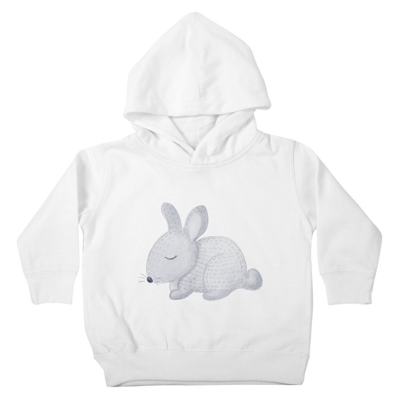 BUNNY Kids Toddler Pullover Hoody by IF Creation's Artist Shop