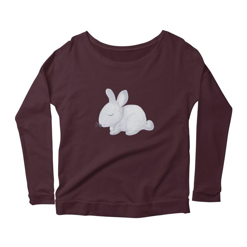 BUNNY Women's Scoop Neck Longsleeve T-Shirt by IF Creation's Artist Shop