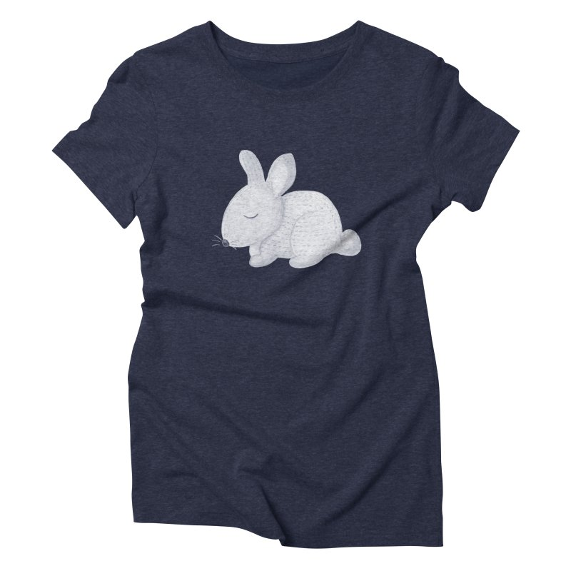 BUNNY Women's Triblend T-Shirt by IF Creation's Artist Shop