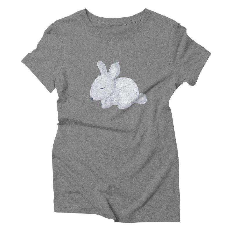 BUNNY Women's Triblend T-Shirt by IF Creation's Artist Shop