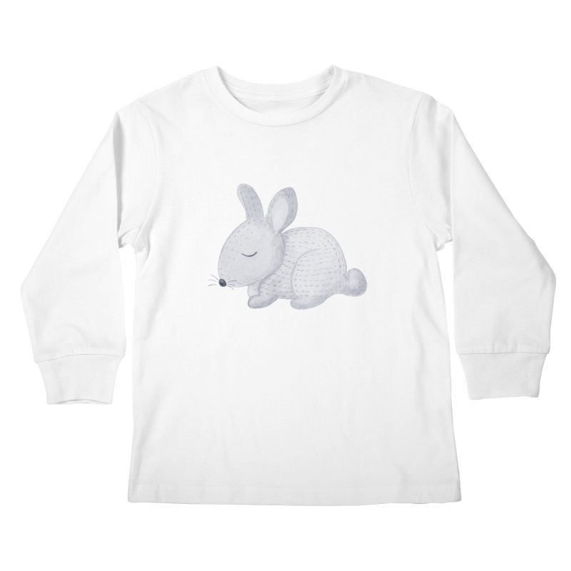 BUNNY Kids Longsleeve T-Shirt by IF Creation's Artist Shop