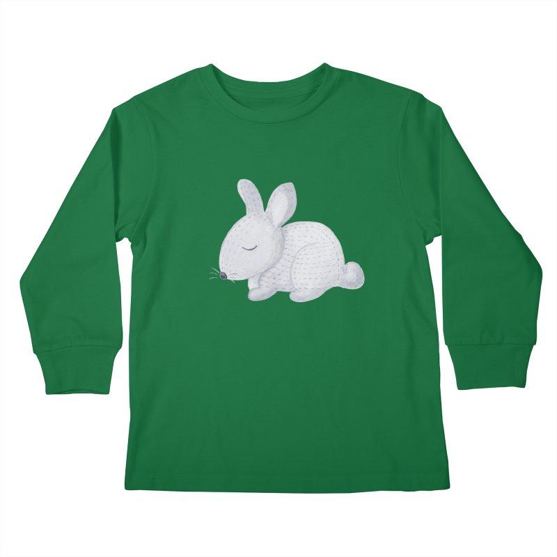 BUNNY Kids Longsleeve T-Shirt by IF Creation's Artist Shop