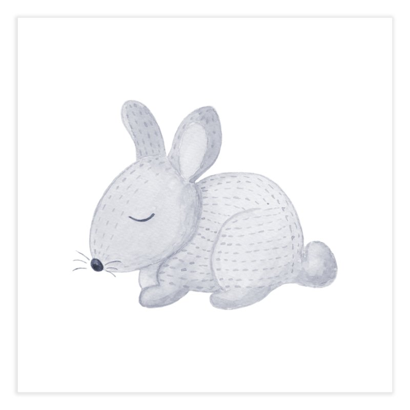 BUNNY Home Fine Art Print by IF Creation's Artist Shop