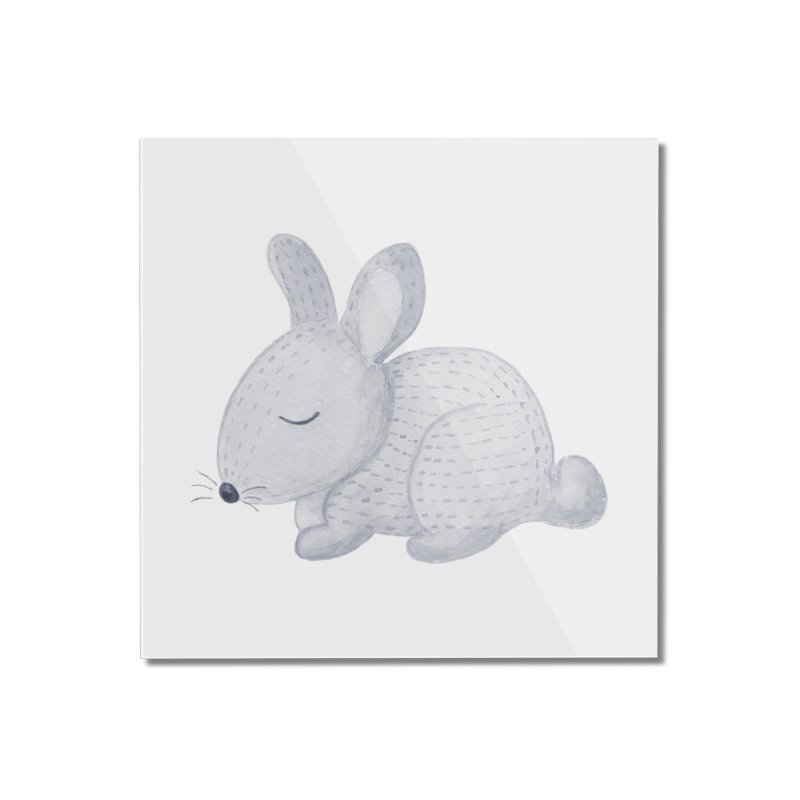 BUNNY Home Mounted Acrylic Print by IF Creation's Artist Shop