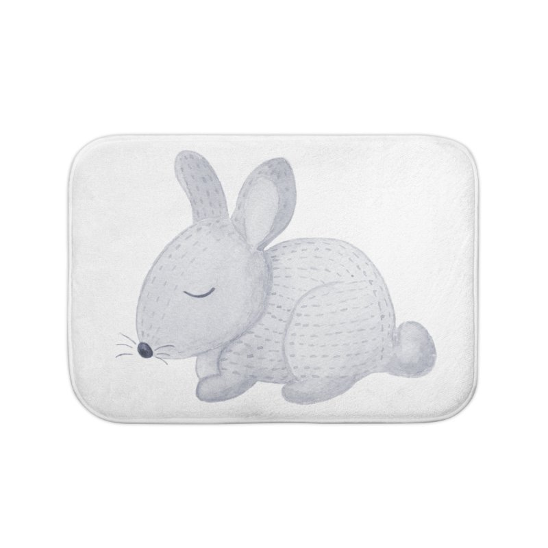 BUNNY Home Bath Mat by IF Creation's Artist Shop