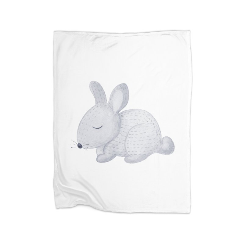 BUNNY Home Blanket by IF Creation's Artist Shop