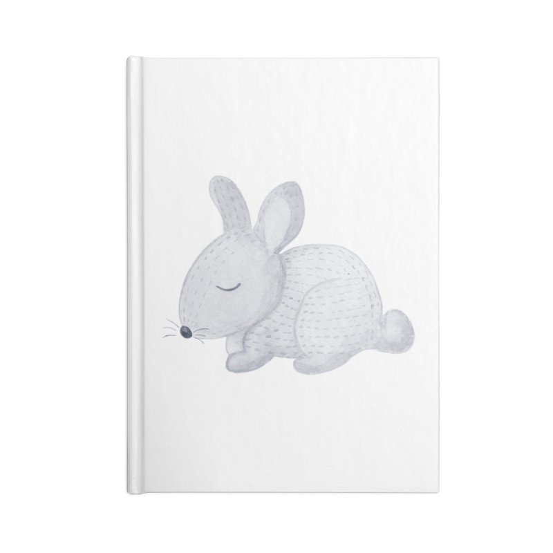 BUNNY Accessories Blank Journal Notebook by IF Creation's Artist Shop