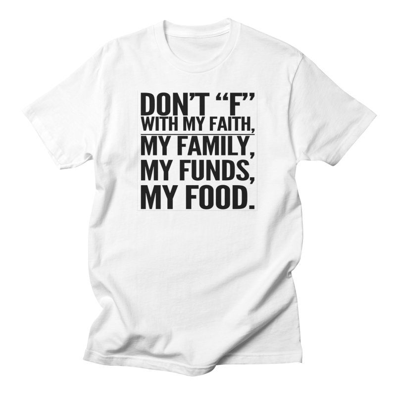"""Don't """"F"""" Women's T-Shirt by IF Creation's Artist Shop"""