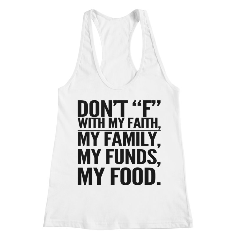 """Don't """"F"""" Women's Tank by IF Creation's Artist Shop"""