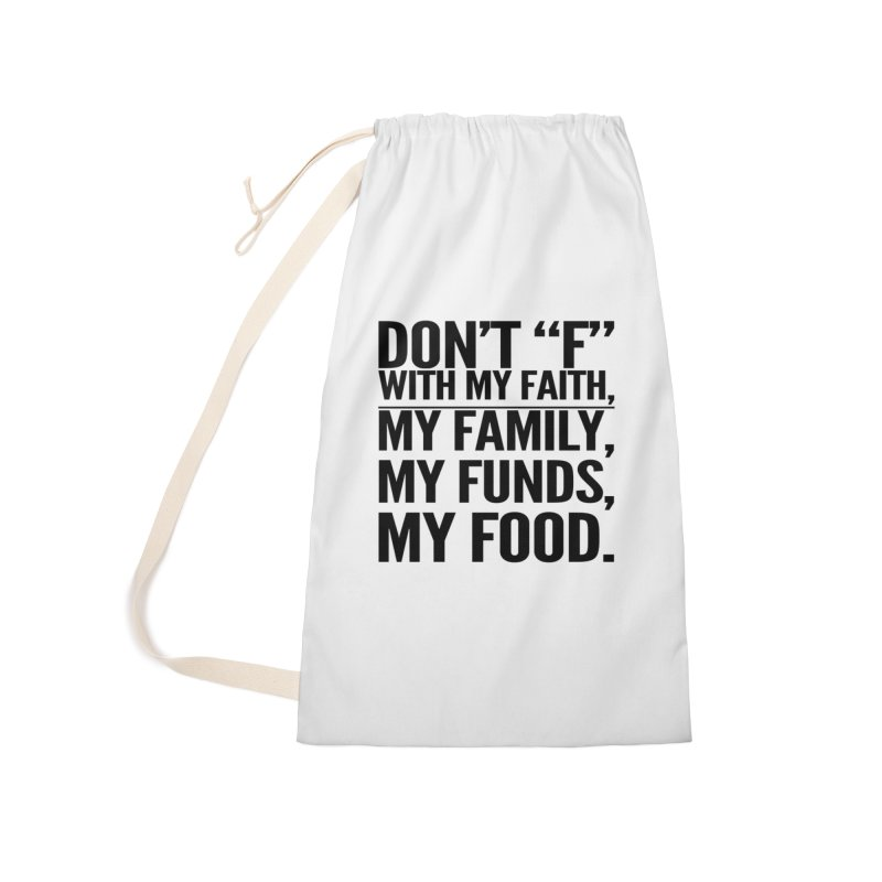 "Don't ""F"" Accessories Laundry Bag Bag by IF Creation's Artist Shop"