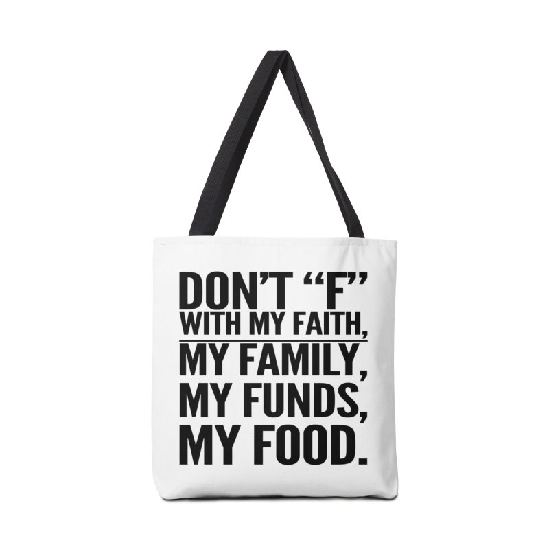 "Don't ""F"" Accessories Bag by IF Creation's Artist Shop"