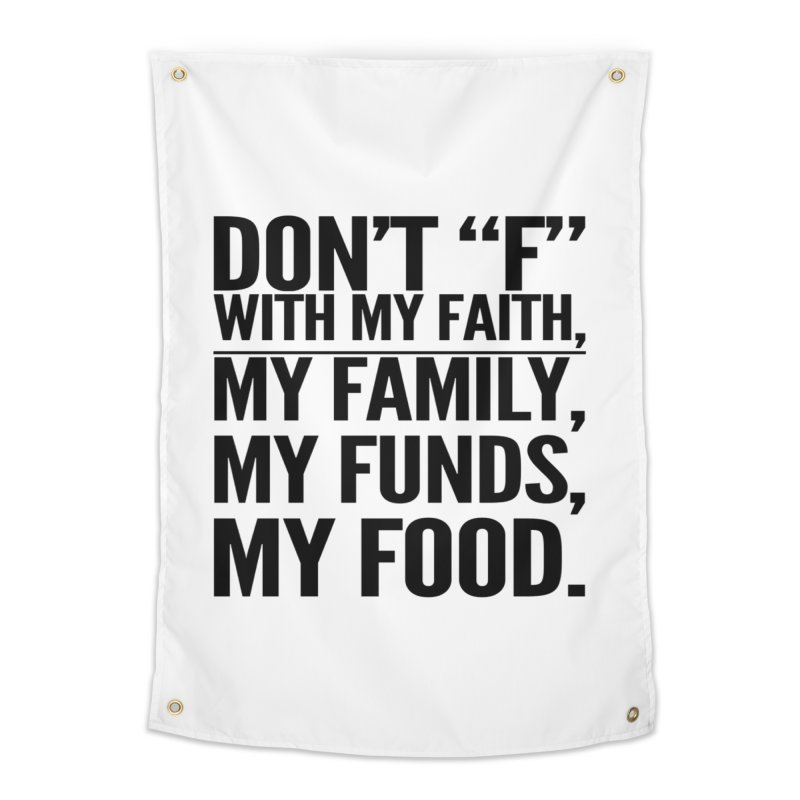 "Don't ""F"" Home Tapestry by IF Creation's Artist Shop"