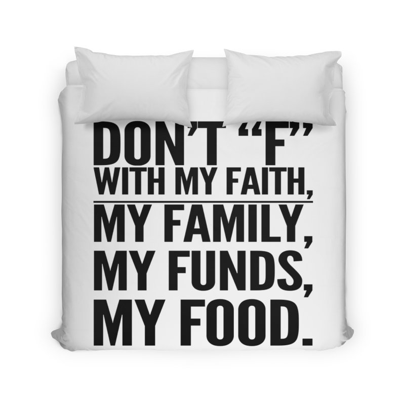 "Don't ""F"" Home Duvet by IF Creation's Artist Shop"