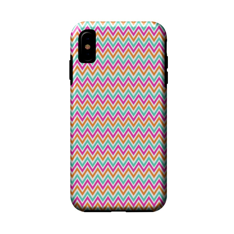 PASTEL ZIGZAG Accessories Phone Case by IF Creation's Artist Shop