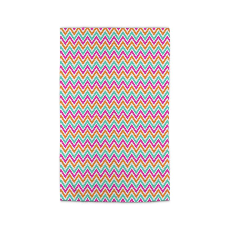 PASTEL ZIGZAG Home Rug by IF Creation's Artist Shop