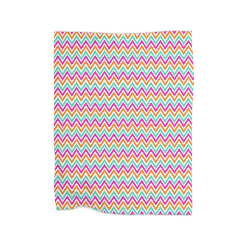 PASTEL ZIGZAG Home Blanket by IF Creation's Artist Shop