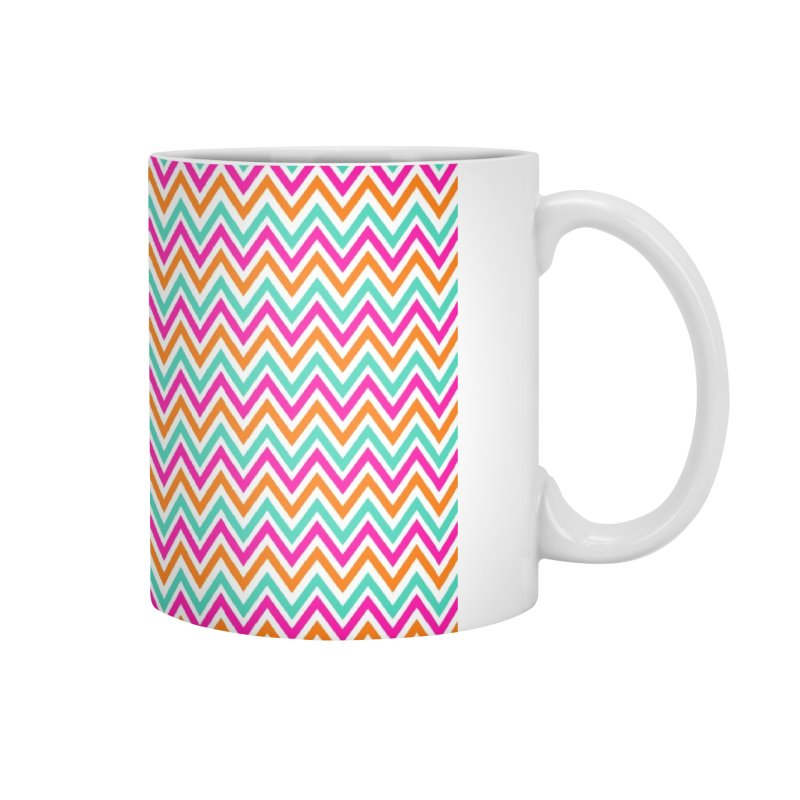 PASTEL ZIGZAG Accessories Mug by IF Creation's Artist Shop