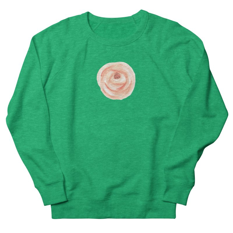 PEACH FLOWER Women's Sweatshirt by IF Creation's Artist Shop