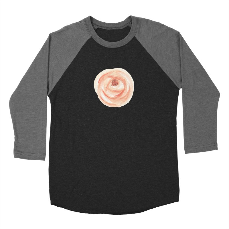 PEACH FLOWER Women's Longsleeve T-Shirt by IF Creation's Artist Shop