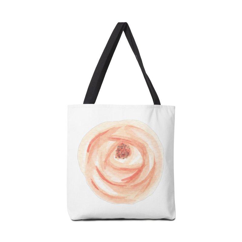 PEACH FLOWER Accessories Bag by IF Creation's Artist Shop
