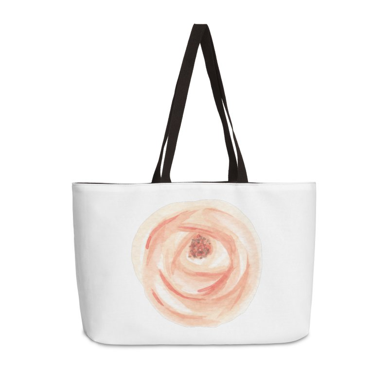 PEACH FLOWER Accessories Bag by IF Creation's Artist Shop